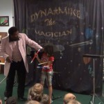 Dynamike Performing at the Three Rivers Library