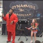 Dynamike Performing at the Taylor Library